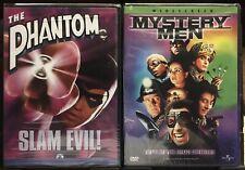 Phantom Dvd & Mystery Men Dvd. Superhero Double Feature