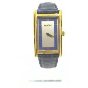 Gucci  2600L Gold x Blue Watch 862656