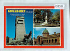 C5311ryt Australia NSW Doulburn Lilac City War Memorial Multiview NCV postcard