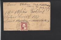 WEST MIDDLESEX, PENNSYLVANIA COVER. #26.  BALLOON CANCEL S.O.N. VF