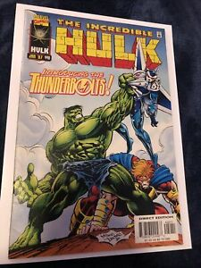 The Incredible Hulk #449 (1997) 1st team appearance Thunderbolts VF 8.0