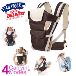 Baby Carrier Breathable Infant Newborn Backpack Sling Ergonomic Wrap Adjustable