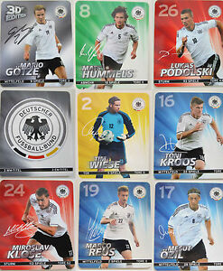 Rewe Album Offi. DFB Em 2012 German Foot Ball Federal Trading Cards Players