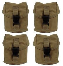 Specialty Defense Sds Molle Ii 100 Round Saw/Utility Pouches - coyote - Set Of 4