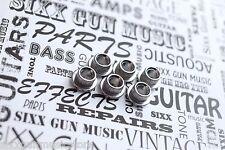 SGM Vintage Guitar Tuner Conversion Bushings, Adapter Ferrules 10mm Nickel F-14
