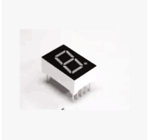 "7 Segment 1"" inch 1 Bit Digit CC/CA Led Display Bright Red 24X34mm DIP-10"