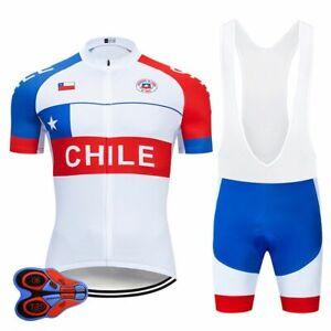 Cycling Jersey Bib Set National Team MTB Uniform Bicycle Bike Clothes Men Short