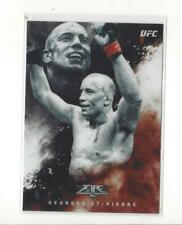 2017 Topps UFC Fire Fired Up #F1 Georges St-Pierre