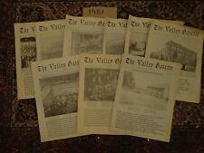 The Valley Gazette 1981 9 Issues Lansford, Lehighton History Pennsylvania