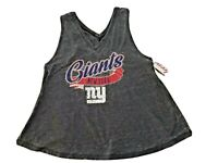 NFL New York Giants Distressed Racerback Tank Top Juniors Teens  XL (15/17) NWT