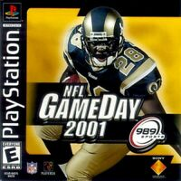 NFL Gameday 2001 For PlayStation 1 PS1 Football 8E