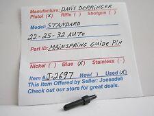 DAVIS DERRINGER  22-25-32 CAL. ( MAINSPRING GUIDE PIN) ( J-2697 )