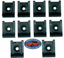 Ford Lincoln Mercury Factory Correct #10 Screw Bolt U Clips J Nut Nuts 10pcs Q