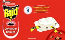 Raid Kills Cockroaches and Eliminates their Colonies Raid Bait Cockroach 6 Lures