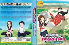 ANIME DVD~Karakai Jouzu No Takagi-San Season 1+2(1-24End+OVA)FREE SHIP+GIFT