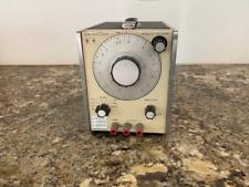 Vintage Hewlett Packard 204c Oscillator Untested
