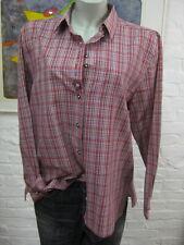 LANDHAUS C&A Naturally schöne Bluse Gr.42, Mehrfarbig kariert,Langarm