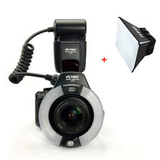Viltrox JY-670 Macro Ring Flash Speedlite Light Lite for Canon Nikon Sony DSLR