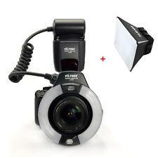 Viltrox JY-670 Macro Ring Flash Speedlite Light Lite for Canon Nikon Sony DSLR
