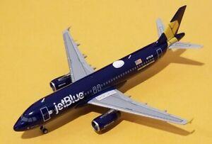 Gemini Jets 1:400 JetBlue A320 Veterans Yellow Ribbon Livery N775JB Rare