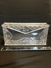 Beautiful Vintage Celebrity Lucite Tissue Box Plastic Counter Top Or Wall Hanger
