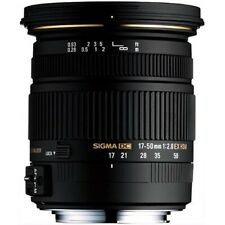 Sigma 17-50mm f/2.8 EX DC OS HSM Lens - Canon