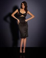 AGENT PROVOCATEUR BLACK MARCHA DRESS SIZE LARGE / 4 / 12-14 RRP £495