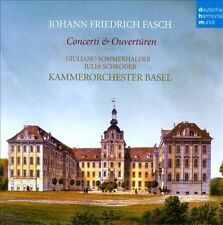 JOHANN FRIEDRICH FASCH: CONCERTI & OUVER NEW CD