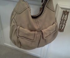 Cole Haan Beige Hobo Leather purse,pockets,clean,shoulder bag