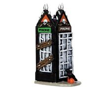 Lemax Spooky Town - Spooky Phone Booth - New