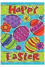 """12X18"""" Happy Easter Mini-Garden Mailbox Flag Home Decor Garden Flag Welcome"""