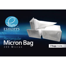 Eshopps Rectangular 300 Micron Bag 3 Pack