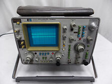 HP 1741A OSCILLOSCOPE W/ CALIBRATED STICKER 1/28/16 TO 1/26/17