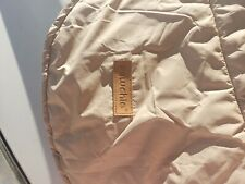 New listing Waterproof Tan Dog Coat Jacket Quilted Plaid Cozy Reversible Warm Washable Xl