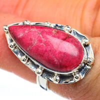 Thulite 925 Sterling Silver Ring Size 6 Ana Co Jewelry R44894F