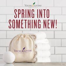 New Young Living Essential Oils Premium Organic 100% Wool Dryer Balls (Set Of 4)