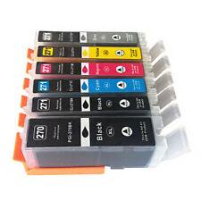 EDIBLE ink 6 Cartridge PGI-270 CLI-271 Canon MG7720 TS9020 TS8020 MG6821 TS6020
