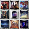 Home Decor TV Doctor Who Pillowcase Sofa Car Waist Pillow Case Cushion Cover