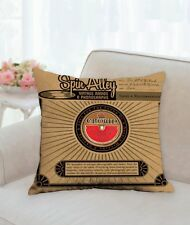 """Spin Alley Record Sleeve 18"""" x 18"""" Throw Pillow"""