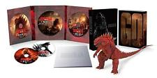 TOHO Godzilla 2014 Blu-ray with S.H.MonsterArts Figure Set Poster Ver. Japan Ltd