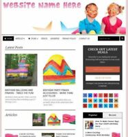 PARTY SUPPLIES STORE - Affiliate Website Business For Sale + Domain + Hosting