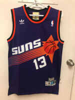 NWT Steve Nash #13 Phoenix Suns Throwback Men's Stitched PURPLE Jersey