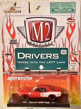 M2 MACHINES AUTO-DRIVERS 1971 PLYMOUTH HEMI CUDA 09-05 RED W+