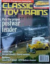N.O.S. Classic Toy Trains  September 2001