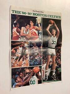 The '86 - '87 Boston Celtics In Action! Poster