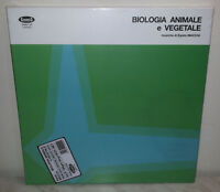 3 LP EGISTO MACCHI - BIOLOGIA ANIMALE E VEGETALE - BOX - ONLY 600 - NUOVO NEW