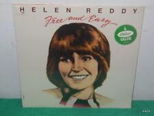 HELEN REDDY - FREE AND EASY - SEALED VINYL LP