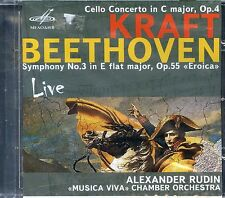 Beethoven: Symphony No. 3; Antonin Kraf New CD A RUDIN