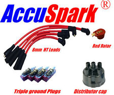 MG Midget 1500 cc , HT leads, AC12C plugs,Red Rotor & Distributor cap 45D