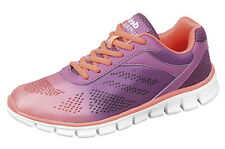 Ladies Dek trainers PURPLE/SALMON size 3 **SALE**  only £10 POST FREE